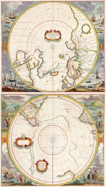 Hondius Polar Maps