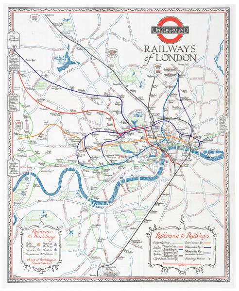 Perman London Underground Railways 1928