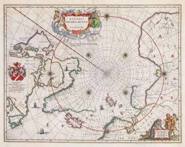 Blaeu North Pole