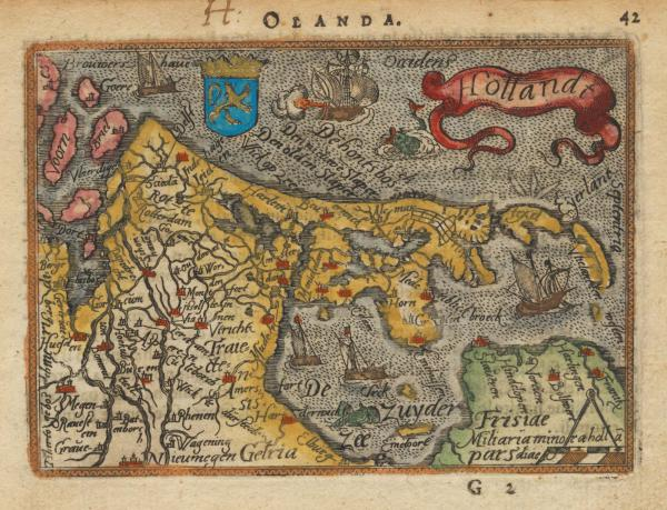 Ortelius Holland Galle